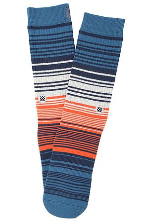 Stance Socks Caspian in Navy