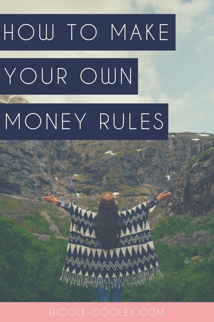 How To Make Your Own Money Rules – Millennial Money