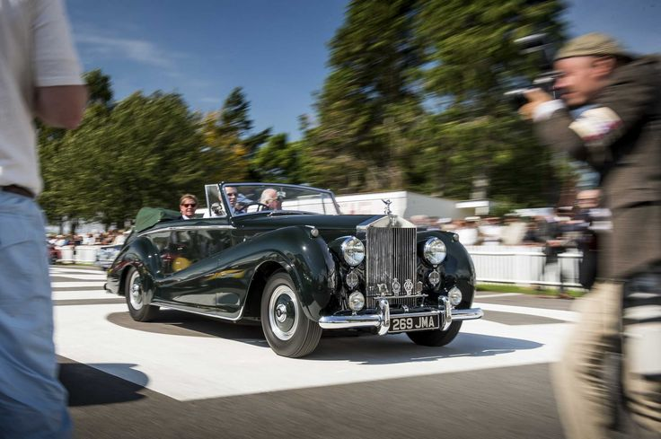 ROLLS-ROYCE CELEBRATES 2016 GOODWOOD REVIVAL: Rolls-Royce will celebrate the 2016 Goodwood Revival with a significant presence at the legendary motor circuit. The centrepiece will be The March Motor Works, which this year is transformed into a period Rolls-Royce showroom, recapturing the sights, sounds and atmosphere of the marque's glamorous Berkeley Square and Park Lane premises in London's West End during the 1950s…