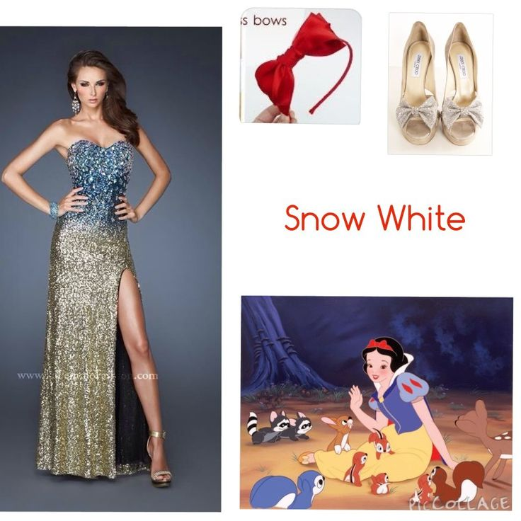 Sexy snow white