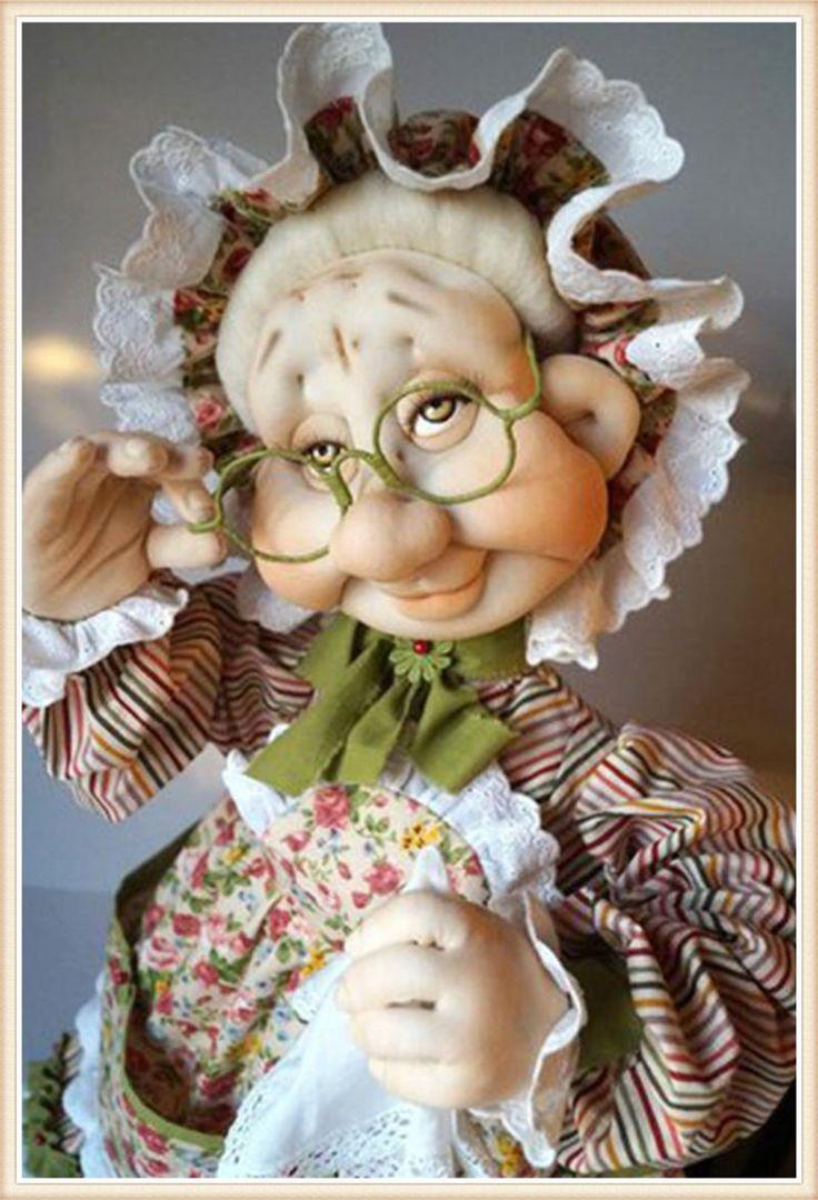 [Visit to Buy] 5D DIY diamond Painting old granny doll  Cross Stitch Decorative Needlework diamond mosaic diamond embroidery Christmas gift #Advertisement