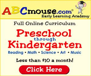 ABC Mouse 1 year membership giveaway