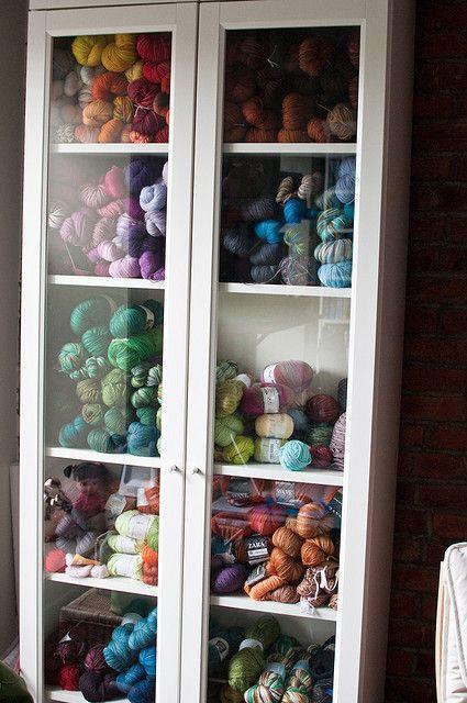 My Yarn Stash by Hav n Knit Lover, via Flickr