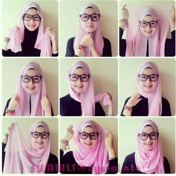 Simple And Easy Daily Hijab Tutorial Easy Hijab Tutorial Pinterest Simple Hijab Tutorial