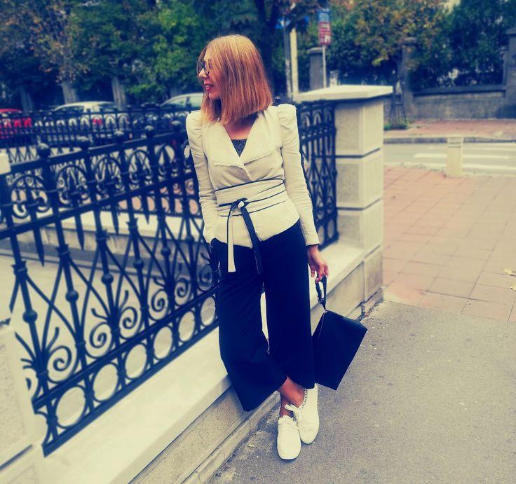 Moda 40+: Beige blazer