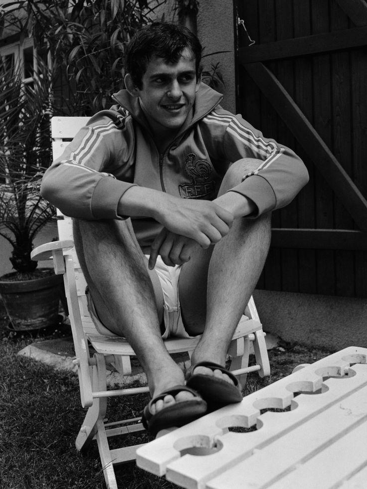 Michel Platini en 1976, poco antes de cumplir 21.