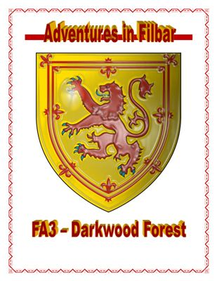 FA3 - Darkwood Forest is a free role playing game supplement from Adventures in Filbar. #RPG