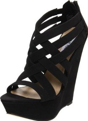 Steve Madden Women's Xcess Wedge Sandal: Steve Madden: Shoes