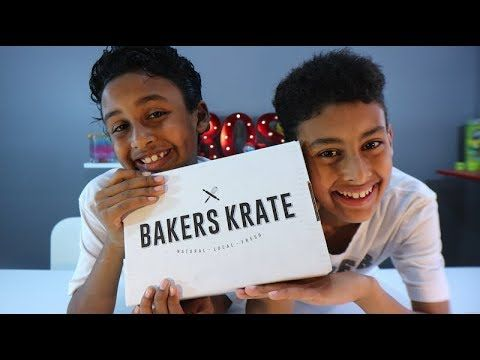 Everything is hand crafted by Canadian Artisans. They only share quality gourmet desserts, made with utmost care and love. www.bakerskrate.com  Welcome to Super Bros and Toys! This is where Emir and Adams join forces to challenge each other in countless fun videos! Challenges, Review, vlog and more!!! Be sure to SUBSCRIBE and we want to see you in the next video!!!😀