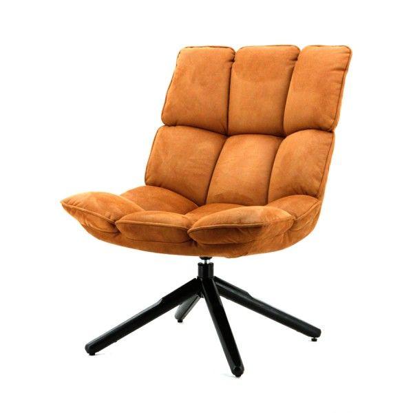 Fauteuil Daan - Cognac Touareg ipv de rieten stoel :)