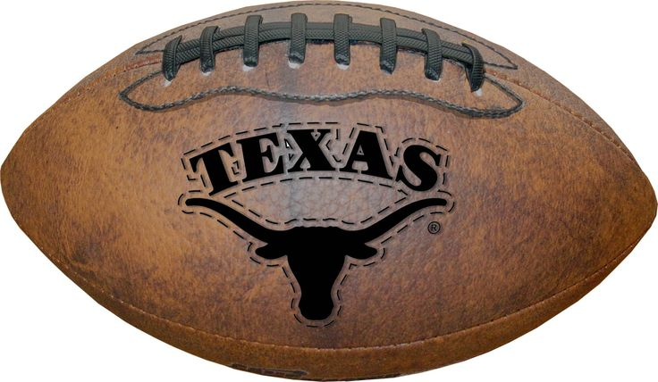 Texas Longhorns Football - Vintage Throwback - 9 Inches