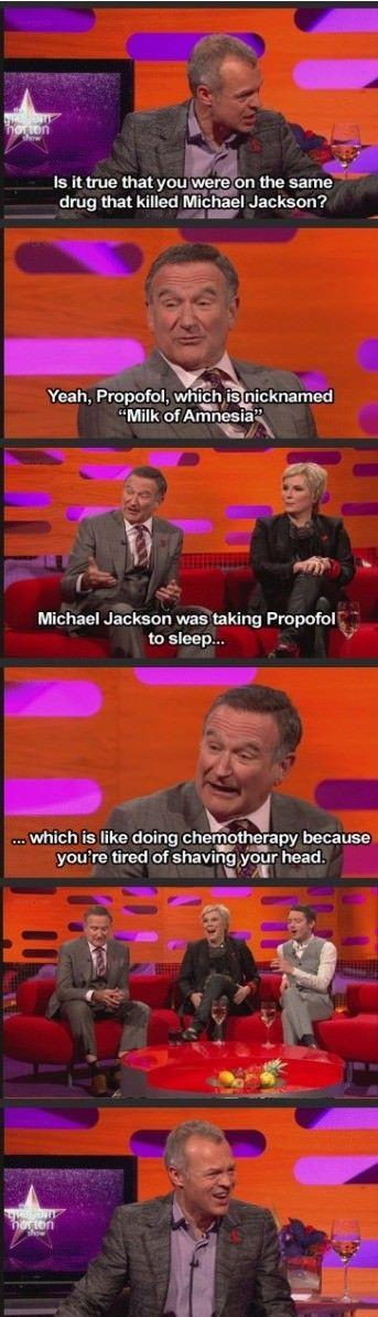 Robin Williams had no chill   funny pictures