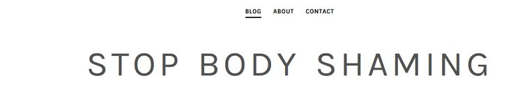 Please visit my blog and leave a comment. This is for a school project and I would like to reach 50 comments. The purpose of the blog is to raise awareness about body shaming and have people to accept themselves and others.