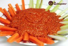 Mhammara o Muhammara es una salsa a base de pimiento originaria de Aleppo (Siria), aunque no está suficientemente claro, algunos dicen que es libanesa, aunque famosa en España gracias a la cocina turca.