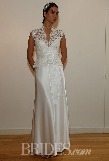 David Fielden Wedding Dresses Fall 2014 Bridal Runway Shows | Wedding Dresses Style | Brides.com