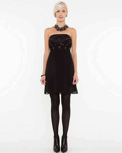 Chiffon Tube Dress sale $70