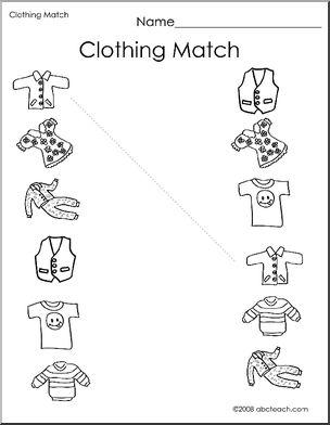kindergarten worksheet clothes google search e le tirme kindergarten worksheets preschool. Black Bedroom Furniture Sets. Home Design Ideas