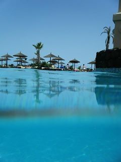 Pool with reflections, Cape Verde