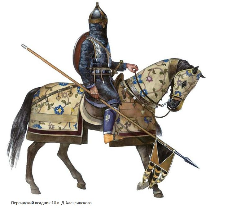Sassanian Clibinari with long cavalry Lance(Contus/Xyston) chainmail armor, and leather/textile horse armor.
