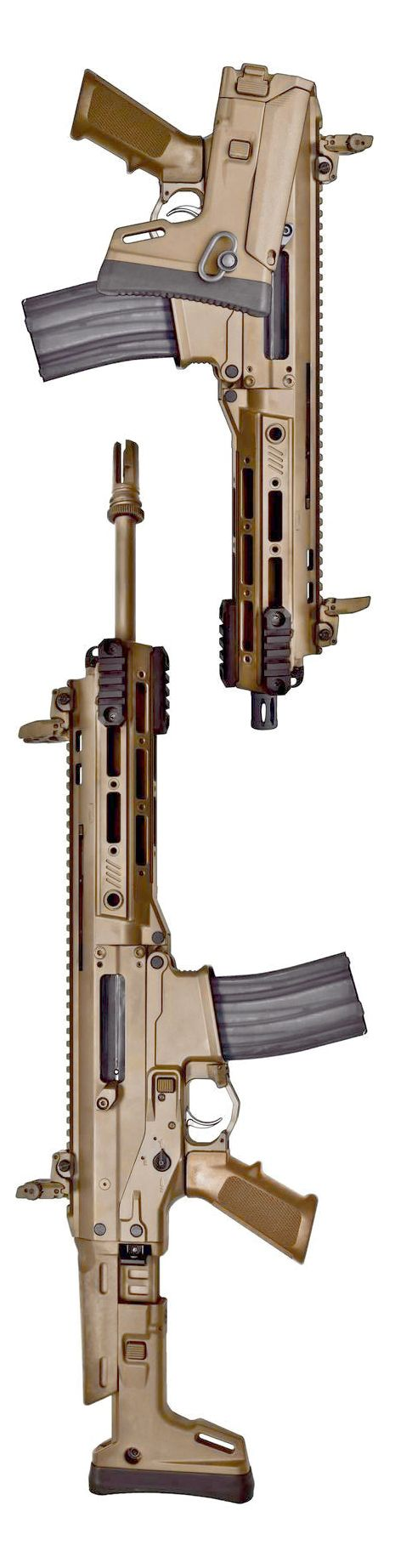 Remington ACR-IC 'Individual Carbine' in compact and standard.