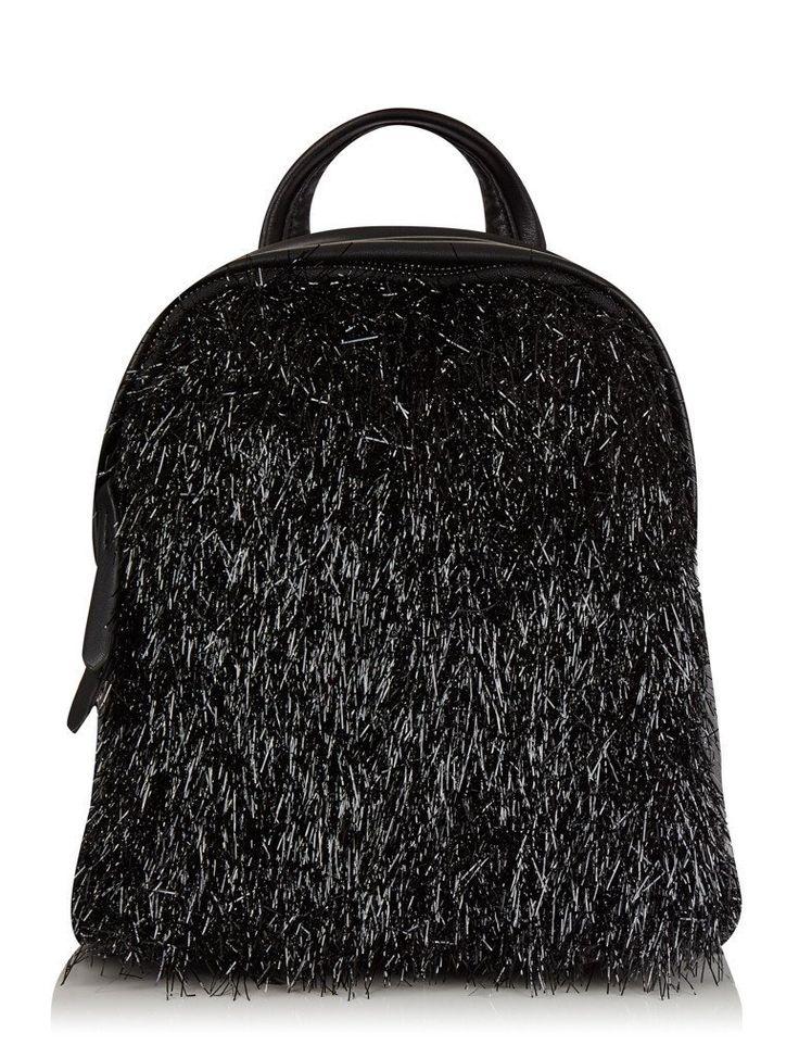 Charlie Tassel Mini Backpack in Black | NYLON SHOP