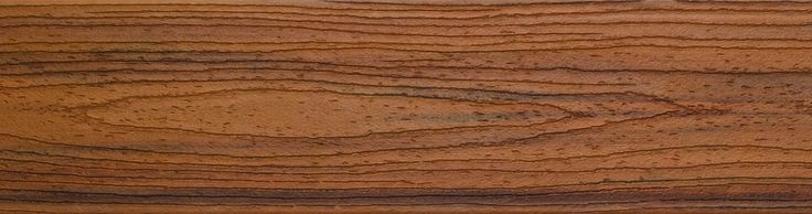 Trex transcend in tiki torch this warm earthy brown for Who makes tropics decking