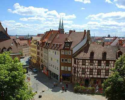 Old Town Nuremberg Germany: Rich with history and beauty!