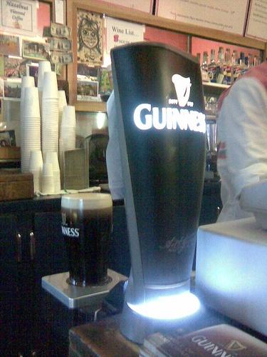 Guinness Surger in Action, via Flickr.