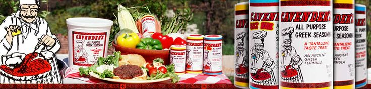 Cavender's Greek Seasoning is located in Harrison, Arkansas. Family owned and operated since 1971