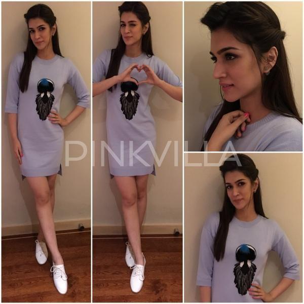 Style File : Kriti Sanon for 'Diwale' promotions | PINKVILLA