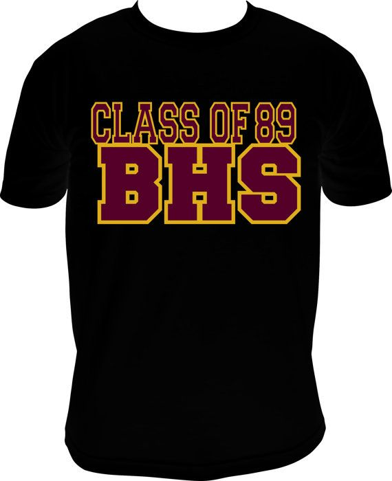 Class Of 89 Menu0027s Vinyl TShirt By MPShineDesigns On Etsy, $20.50 · Class  Reunion IdeasHigh ...