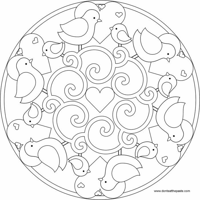 1001 Ideen Fur Originelle Und Kreative Mandalas Fur Kinder M