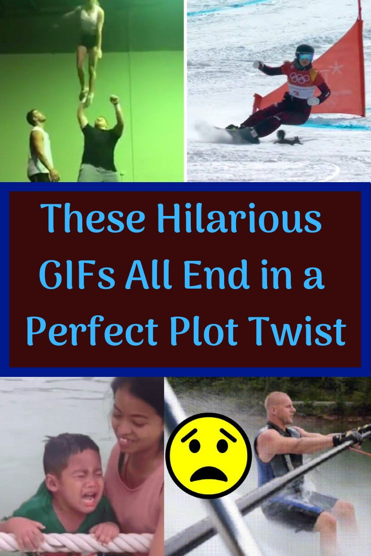 These Hilarious GIFs All End in a Perfect Plot Twist