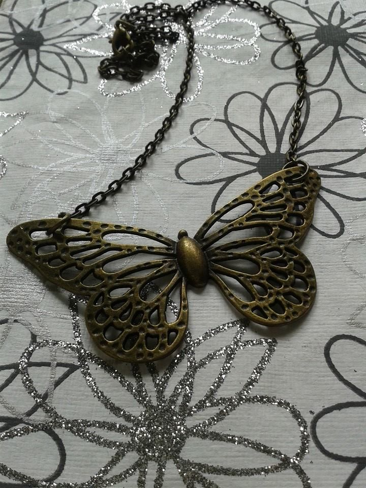 Butterfly Necklace Email shenbettridge@gmail.com
