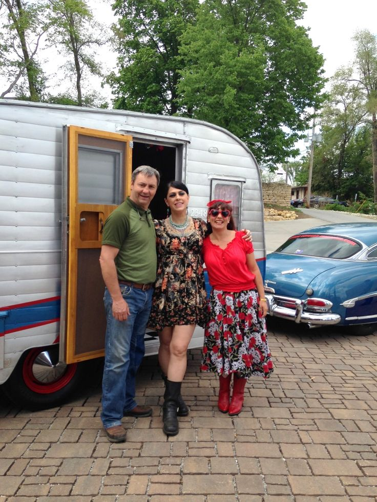 With Mike Wolfe & Danielle Colby from American Pickers in Iowa. The Ultimate Road Trip: Route 66! http://www.gearheads4life.com/features/the-ultimate-road-trip-route-66/