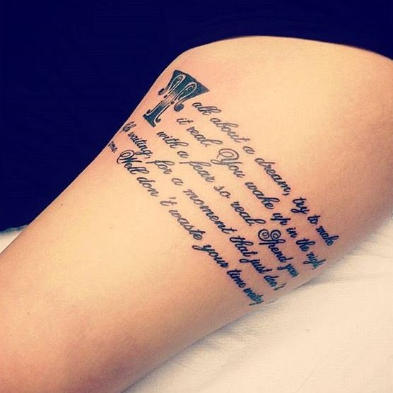 1000 Images About Tattoo Quotes On Pinterest: 1000+ Images About Bruce Springsteen Tattoos On Pinterest