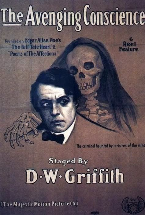 MOVIE: The Avenging Conscience - D.W. Griffith, 1914