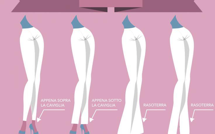 l jeans è un capo evergreen, intramontabile, adatto per ogni occasione d'uso. Vi sono tantissimi modelli adatti ad ogni forma del corpo. L'importante è scegliere il modello giusto e la lunghezza esatta dell'orlo per evidenziare glutei e gambe. Ma qual'è la lunghezza esatta? Scoprilo grazie a Silk Gift Milan su http://www.stilefemminile.it/ogni-modello-di-jeans-ha-la-sua-lunghezza/