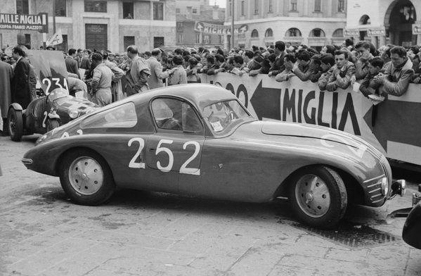 Stanguellini 1100 Sport berlinetta - Mille Miglia 1951