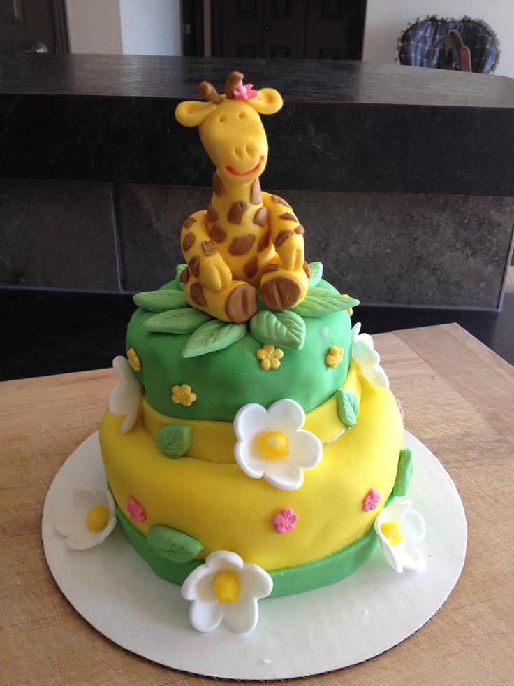 Cake Designs Giraffe : Sweet Giraffe Birthday cake. Bella s Birthday Party ...