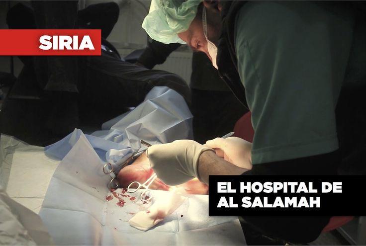 El hospital de Al Salamah de MSF se encuentra en el distrito de Azaz, en el norte de Siria, cerca de la frontera con Turquía. Es gestionado por cerca de 150 miembros del personal de MSF sirios, y es el mayor centro médico de MSF que queda en Siria. El hospital de MSF opera en un contexto de cambios constantes en las líneas de frente y combates entre los numerosos grupos armados, incluido el gobierno de Siria, las fuerzas opositoras, el autodenominado Estado Islámico y las fuerzas kurdas.
