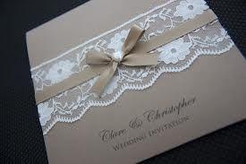 wedding invitations vintage lace - Google Search