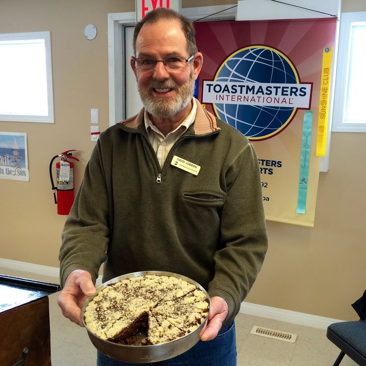 Always lots of great treats at our #toastmasters mtgs. #Toastmasters in the #Arts
