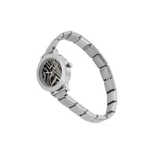 Zebra Women's Italian Charm Watch. FREE Shipping. #artsadd #watches #zebra