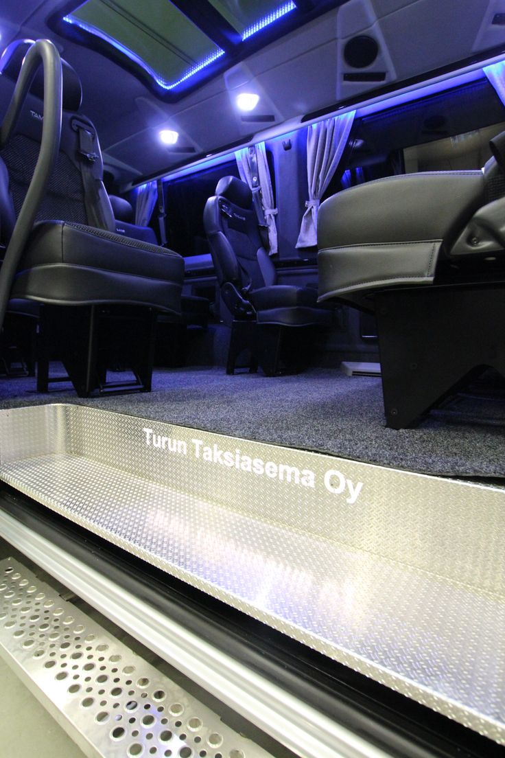Mercedes-Benz Sprinter Tamlans Disabled Taxi, Custom-made Running Board (Side Step)