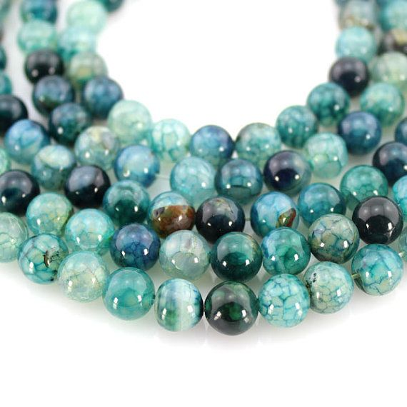 green agate beadsfull strandagate beads round agate beadsabout 48