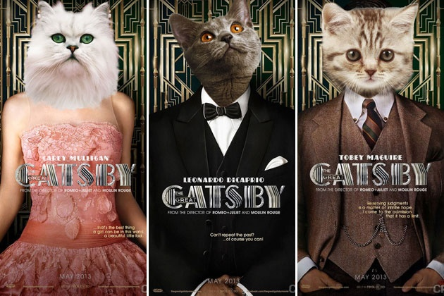 'The Great Gatsby' Plus Cats Equals 'The Great Catsby' via ScreenCrush