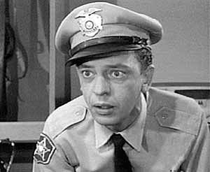 Barney Fife - The Andy Griffith Show, played by Don Knotts