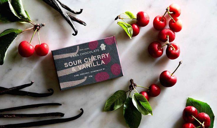 Pana Chocolate Sour Cherry & Vanilla