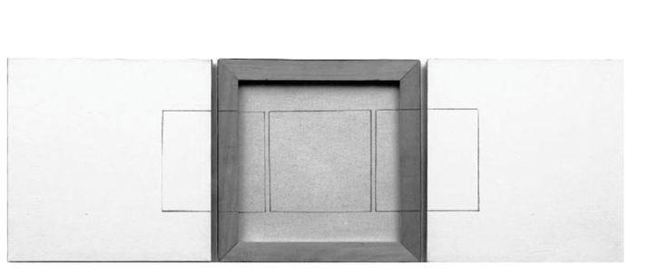 CASE VUOTE I/II Di chi sono le case vuote? Testo di Ettore Sottsass, opera di Giulio Paolini .